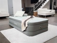 Надувная кровать Intex 64472 со встр. насосом 220V (99х191х46)