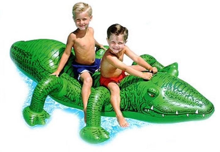 Плотик Крокодил (от 3 лет) Intex 58562 - фото 10012