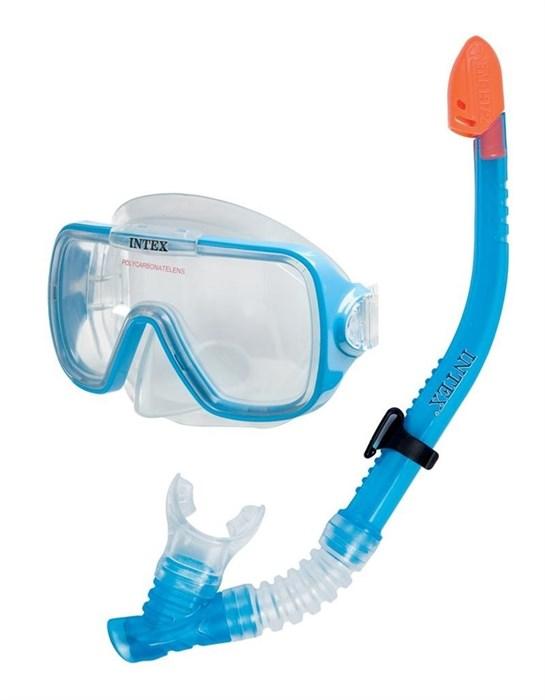 Набор маска с трубкой Wave Rider, от 8 лет Intex 55950 - фото 10071