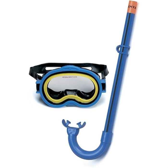 Набор маска с трубкой Adventurer, 3-10 лет Intex 55942 - фото 10073