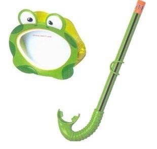 Набор маска с трубкой  Froggy, 3-10 лет Intex 55940 - фото 10074