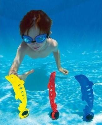 Подводный грузик Веселый дельфинчик Intex 55502 - фото 10079