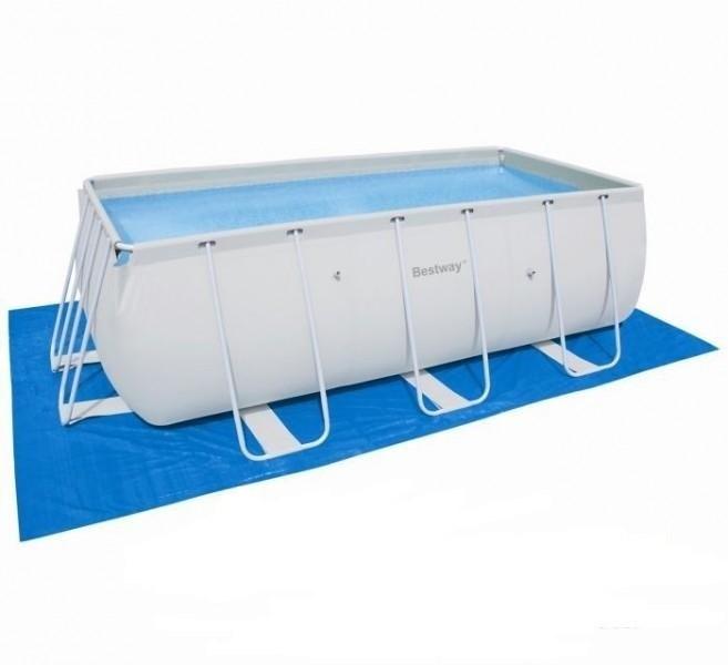 Подстилка для прямоугольного бассейна 500х300см Bestway 58264 - фото 10161
