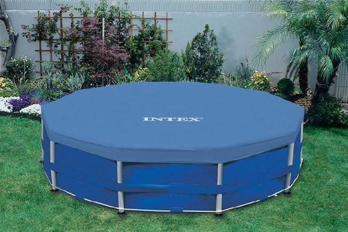 Тент для круглого каркасного бассейна 305см Intex 28030 - фото 10181
