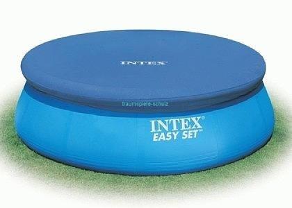 Тент для бассейна с верхним надувным кольцом 366см Intex 28022 - фото 10183