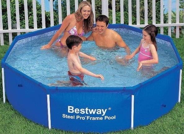 Каркасный бассейн Bestway 56045/56431 (244х61см) - фото 10509