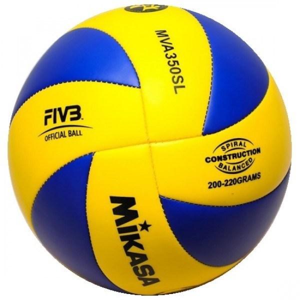Мяч в/б MIKASA MVA350SL р.5, синт. кожа - фото 10630