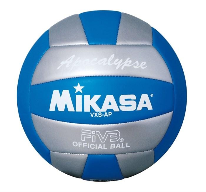 Мяч в/б MIKASA VXS-AP Apocalypse пляжный р.5, синт. кожа - фото 10633