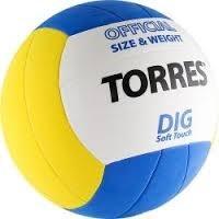 Мяч волейбольный любительский TORRES Dig - фото 10636