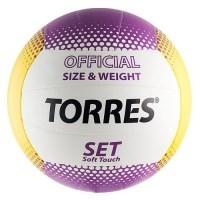 Мяч волейбольный TORRES Set - фото 10637