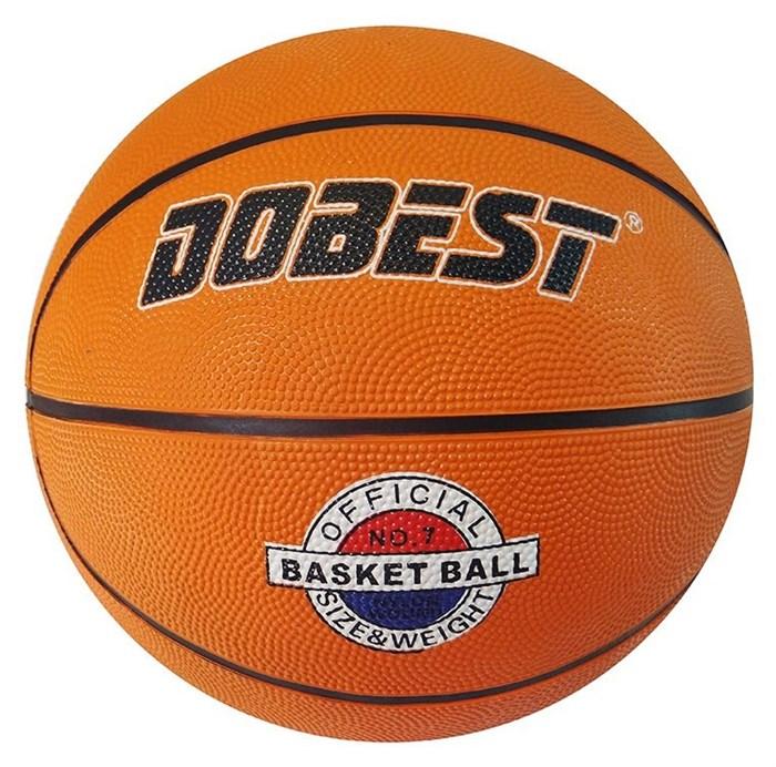 Мяч баскетбольный DOBEST р.7 - фото 10666