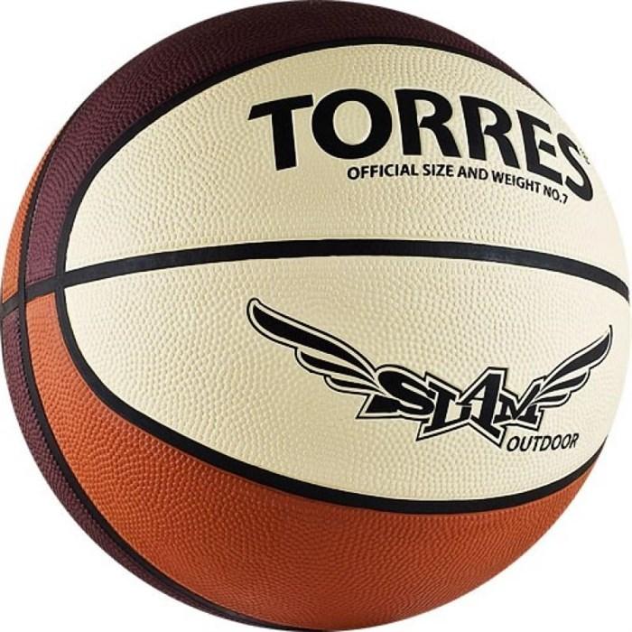 Мяч баскетбольный TORRES Slam р.7 - фото 10667