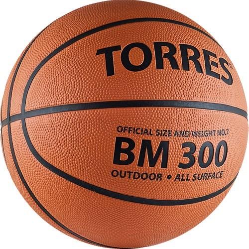 Мяч баскетбольный TORRES BM300 р.7 - фото 10669
