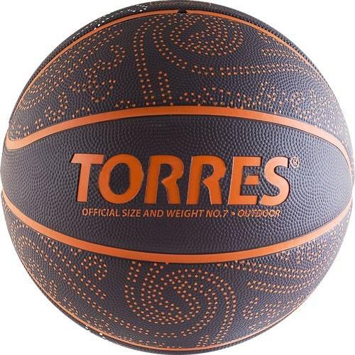 Мяч баскетбольный TORRES TT р.7 - фото 10671
