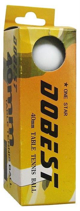 "Мяч для н/т DOBEST BA-01 ""1 звезда"" 3шт/уп - фото 10739"