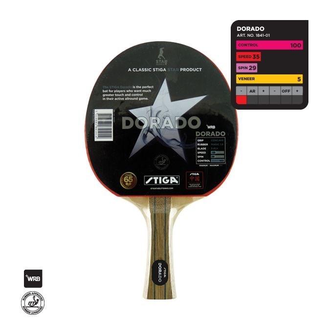 """Ракетка для настольного тенниса """"STIGA""""  Darago - фото 10759"""