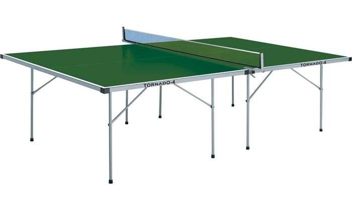 Всепогодный теннисный стол TORNADO-4 зеленый TOR-4 - фото 10826