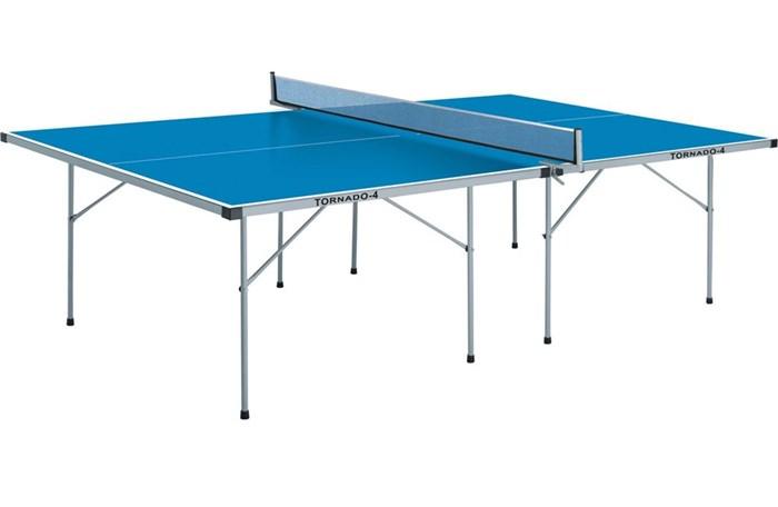 Всепогодный теннисный стол TORNADO-4 синий TOR-4-S - фото 10828