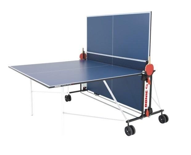 Теннисный стол всепогодный  Donic Outdoor Roller FUN синий - фото 10841