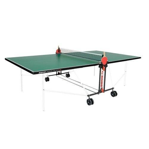 Теннисный стол всепогодный  Donic Outdoor Roller FUN зеленый - фото 10843