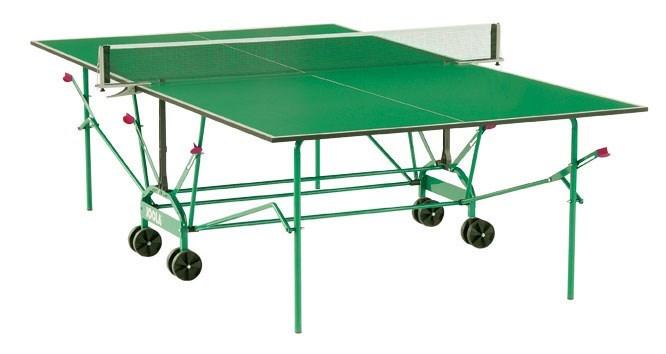 Всепогодный теннисный стол Joola Clima Outdoor зеленый - фото 10848