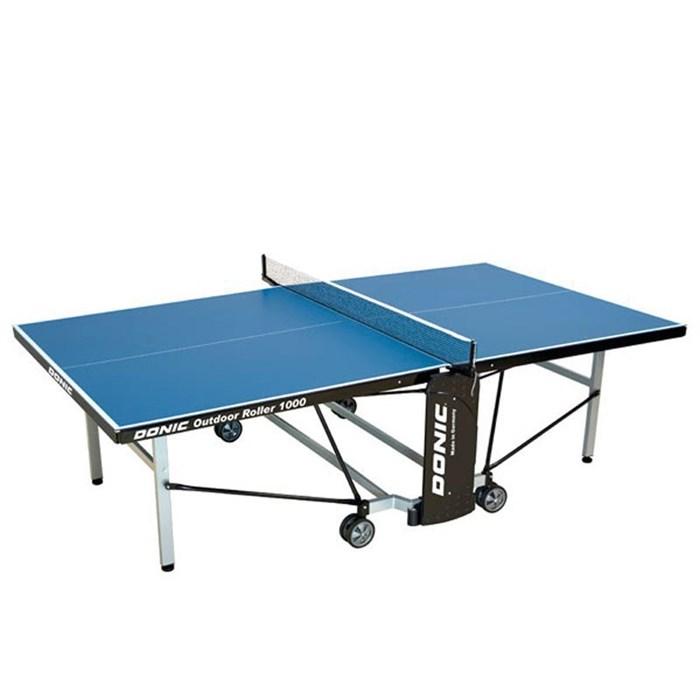 Всепогодный Теннисный стол Donic Outdoor Roller 1000 синий - фото 10860
