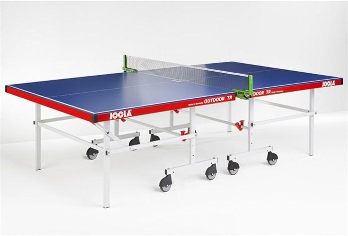 Всепогодный теннисный стол Joola Outdoor TR синий - фото 10871