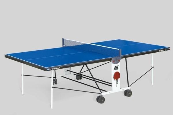 Теннисные столы для помещений Start Line COMPACT LX с сеткой  6042 - фото 10888