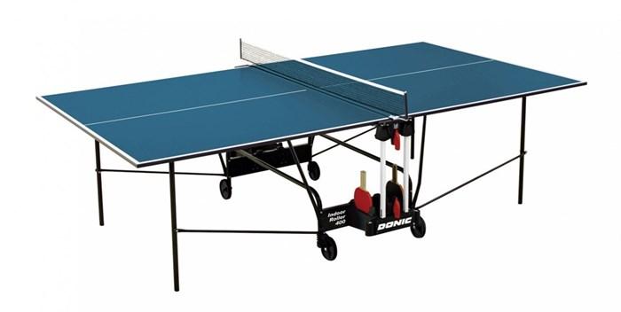 Теннисный стол для помещений Donic Indoor Roller 400 синий - фото 10900