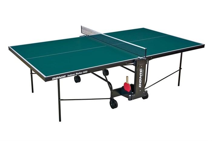 Теннисный стол для помещений Donic Indoor Roller 400 синий - фото 10901