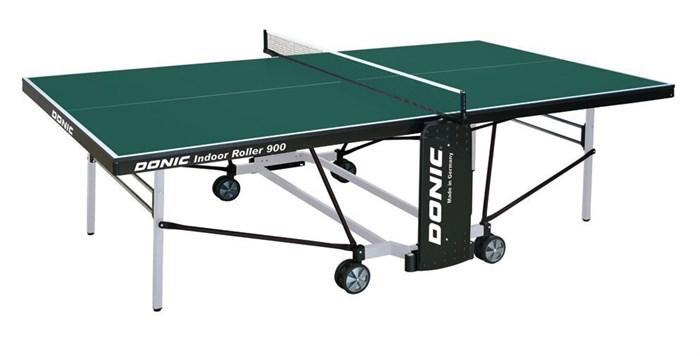 Теннисный стол для помещений Donic Indoor Roller 900 зеленый - фото 10913