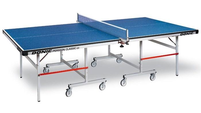 Теннисный стол для закрытых помещений Профессиональный Donic Persson Classic 22 синий - фото 10920
