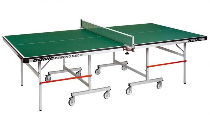 Теннисный стол для закрытых помещений Профессиональный Donic Persson Classic 22 зеленый - фото 10921