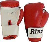 Перчатки боксерские на липучке 6 унц - фото 11500