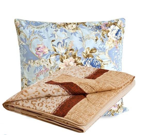 Односпальный комплект  (одеяло - 140х205см; подушка - 50х68см) - фото 11804