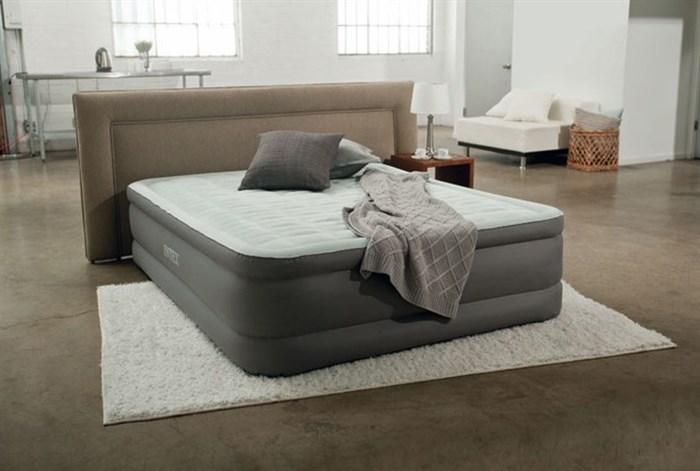 Надувная кровать Intex 64474 со встр. насосом 220V (152x46x203) - фото 12577