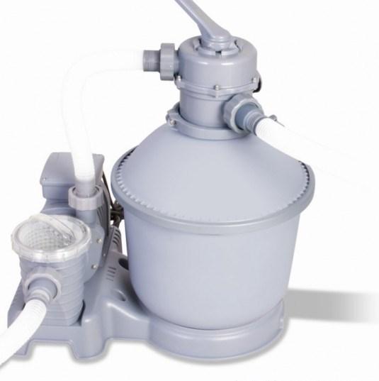 Песочный фильтр насос для бассейна (3785 л/ч) Bestway 58257/58400 - фото 15124
