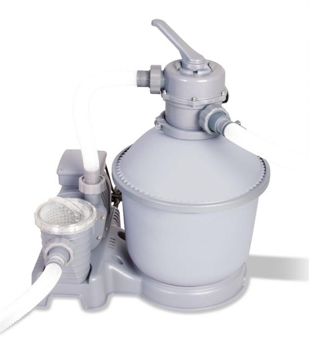 Песочный фильтр насос для бассейна (5678 л/ч) Bestway 58199/58404 - фото 15134