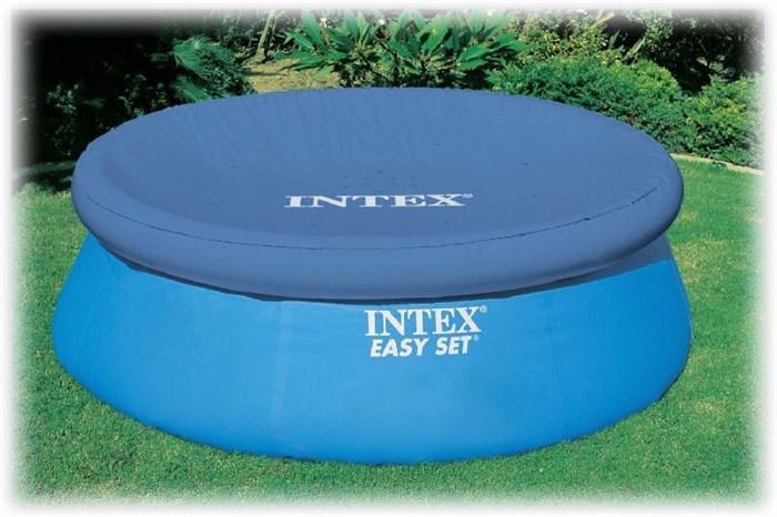 Тент для бассейна с верхним надувным кольцом 244см Intex 28020 - фото 15152