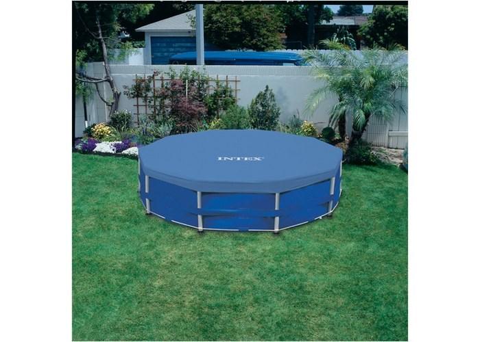 Тент для круглого каркасного бассейна 457см Intex 28032 - фото 15154