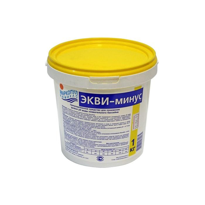 Экви-минус 1 кг. (ср-во для понижения pH воды) 0019 - фото 15157