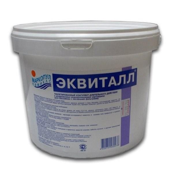 Эквиталл (быстрое осветление, коагуляция воды) 0,8 кг. 0028 - фото 15161
