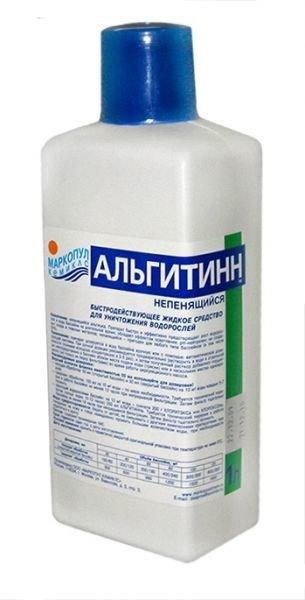 Альгитинн 1 л.(ср-во для уничтожения водорослей) 0015 - фото 15162