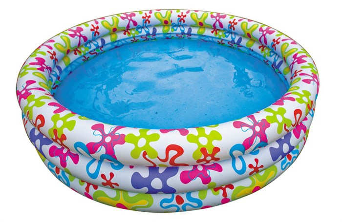 """Детский бассейн """"Цветные брызги"""" Intex 56440 (168х41) - фото 15194"""