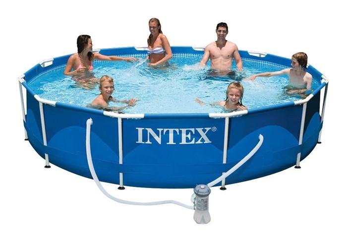 Каркасный бассейн Intex 56996/28212 + фильтр-насос (366х76см) - фото 15309