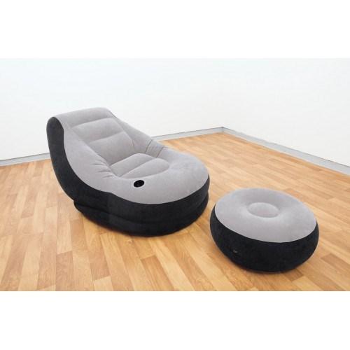 Кресло надувное с пуфиком Intex 68564 - фото 15341