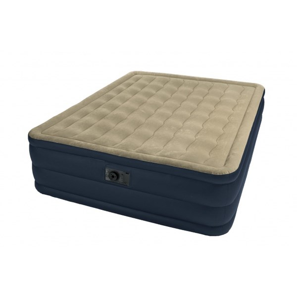 Надувная кровать Intex 67710 двуспальная со встр. насосом 220В (152х203х46) - фото 15541