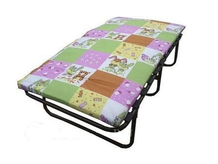 Детская раскладушка с матрасом Р150 (кровать раскладная) 1540х810х470мм - фото 15778