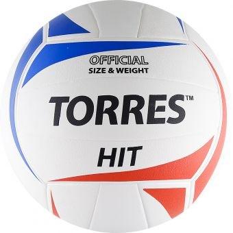 Мяч волейбольный тренировочный TORRES Hit - фото 15822