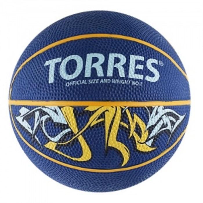 Мяч баскетбольный TORRES Jam р.7 - фото 15826